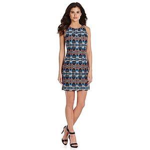 Gianni Bini Reese Jacquard Triable Dress Small